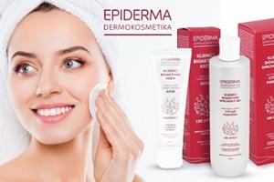 Přírodní dermokosmetika Epiderma - proti akné...