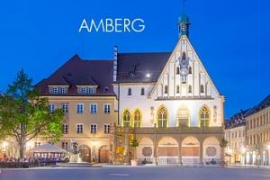 Bavorsko/Amberg, sobotní výlet za vánočními trhy a do aquaparku...