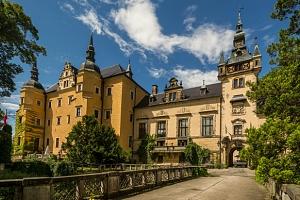 Polský zámek Klickow s neomezeným wellness a polopenzí...