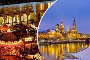 Výlet na adventní trhy v Drážďanech s možností plavby lodí do Pillnitz...