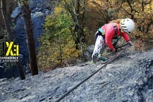 Via Ferrata: lezení s instruktorem po zajištěných cestách u Semil pro 1-3 osoby...