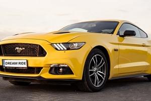 Rychlá jízda ve Fordu Mustang GT včetně pohonných hmot v Olomouci...
