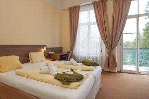 Františkovy Lázně: Hotel Sevilla *** s polopenzí, bazénem a procedurami...