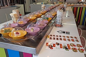 Až 25% sleva na All You Can Eat Running Sushi, OC Novodvorská Plaza...