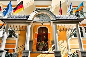 Villa Savoy v Mariánských Lázních s procedurami a plnou penzí...