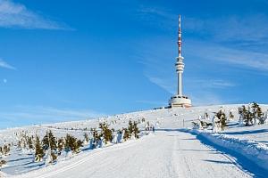 Pobyt ve vysílači Praděd ve výšce 1491 m.n.m. pro dva s polopenzí...