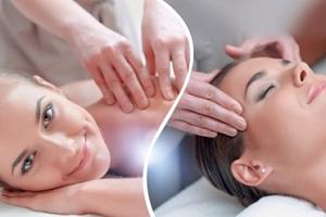 30min. antistresová masáž hrudní a krční páteře, ramen a hlavy...