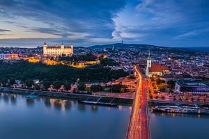 Skvělý víkend v Bratislavě ve stylovém Hotelu Color *** se snídaněmi