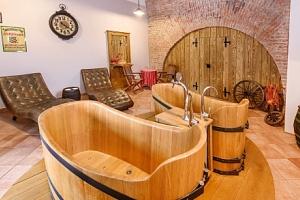 Lázně v pivovaru Poděbrady s pivní koupelí a neomezeným pivem v Penzionu Obora...