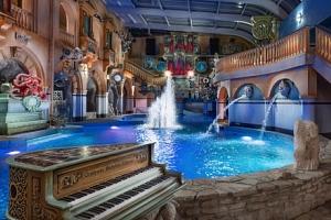 Liberec: WELLNESS HOTEL BABYLON **** se snídaní a Aquaparkem + 2 děti zdarma...