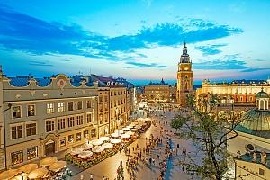 Krakov v hotelu nedaleko centra města se snídaní + termíny do prosince 2020...