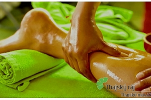 Uvolňující thajská masáž nohou...