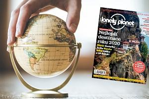Magazín o cestování - roční předplatné časopisu Lonely Planet...