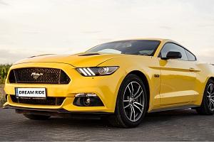 Jízda v Mustangu GT...
