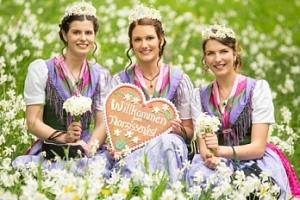 Den plný květin a vůně v Bad Aussee...