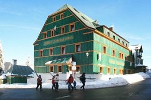 Ubytování v krásné oblasti Krušných hor pro dva s polopenzí...
