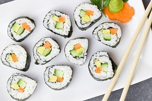 Online kurz: Jak připravit Sushi?...