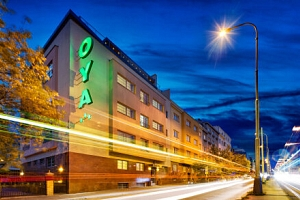 Víkendový pobyt přímo v centru Prahy v elegantním Hotelu Oya *** se snídaněmi...