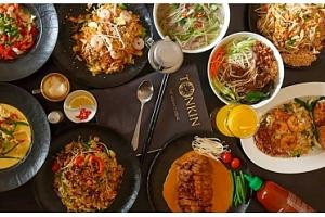 Degustační menu plné specialit ve vietnamské restauraci...