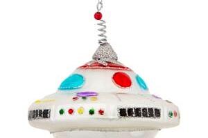 Vánoční ozdoba UFO...