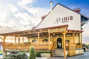 Pálava mezi vinicemi a sklípky: Wellness Hotel Iris *** s polopenzí a vířivkou...