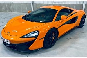 Zážitková jízda ve skvělém a rychlém autě McLaren 570S...