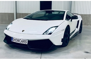 Zážitková jízda v Lamborghini Gallardo LP570–4 Superleggera...
