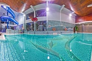 Polsko u skiareálů v Hotelu Klimek SPA **** s vlastním aquaparkem a polopenzí...