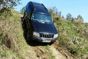 Offroad jízda v Jeepu...