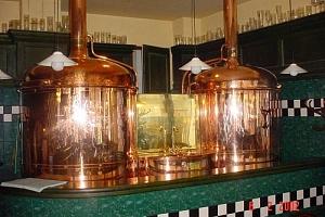 Prohlídka pivovaru spojená s degustací...