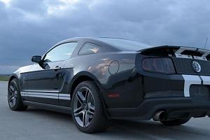 Jízda ve Ford Mustang GT500 SHELBY...