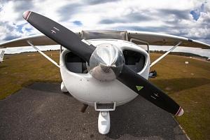 Vyhlídkový let letadlem...