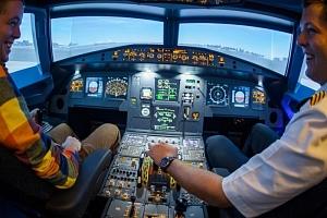 Letecký simulátor Airbus A320...