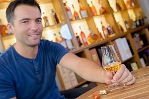 Degustace skotských sladových whisky...
