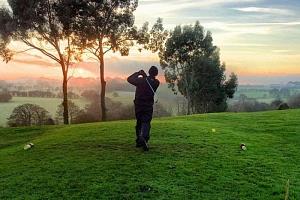 Trénink s koučem golfové psychologie...