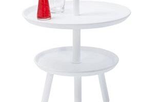 KARE DESIGN Odkládací stolek Jacky White O42cm...
