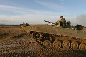 Řízení bojového vozidla pěchoty...