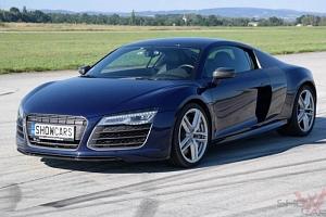 Jízda v Audi R8 V10 Plus...