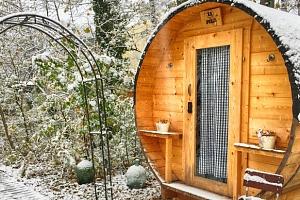 Zážitkový pobyt ve vyhřívaném dřevěném sudu...
