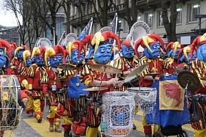 Třídenní autobusový zájezd do Švýcarska na karneval v Luzernu...