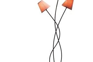 KARE DESIGN Stojací lampa Flexible Mocca Tre...