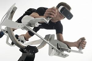 ICAROS-posilování ve virtuální realitě...