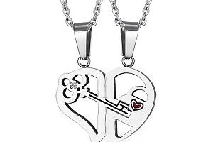 Romantický náhrdelník pro páry a poštovné ZDARMA!...