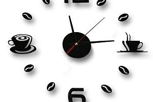Nalepovací hodiny - dodělej si sám...