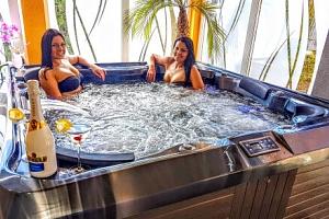 Heléna Hotel & Spa *** u lázeňského Mosonmagyaróváru s polopenzí a wellness...