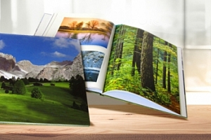 Fotokniha z vlastních fotografií ve formátu A4 na výšku...