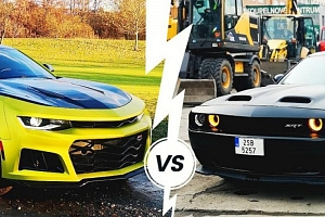 Souboj legend Dodge vs. Camaro...