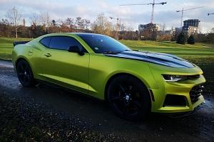 Pronájem supersportu Chevrolet Camaro 2018...