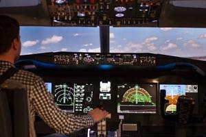 Novinka! Zažijte let jako v opravdové pilotní kabině...