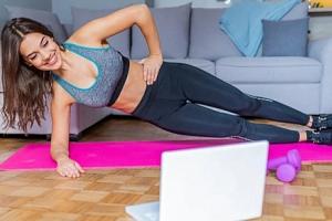 Fitness lekce u Vás doma - měsíční členství na Online Fitness...